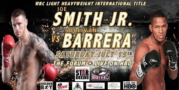 Smith Jr. vs.  Barrera – July 15 – Inglewood, Calif.