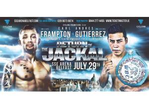 Frampton vs. Gutierrez  - July 29, Belfast, Ireland @ Belfast, Ireland | Belfast | Northern Ireland | United Kingdom