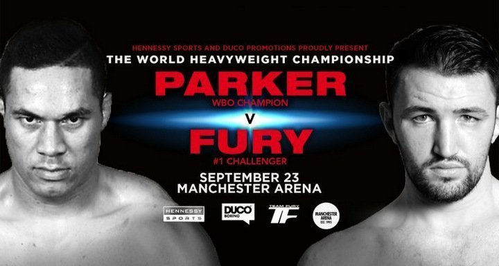 Parker vs Fury – Sept 23 – Manchester, UK