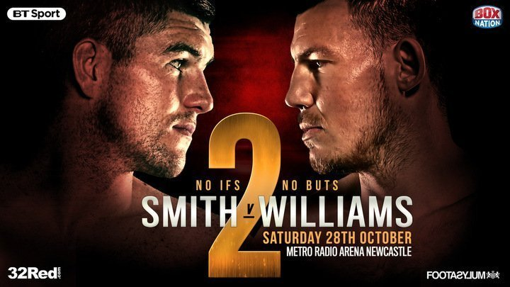 Smith vs.  Williams II - October 28 - Newcastle @ Newcastle | Newcastle upon Tyne | England | United Kingdom