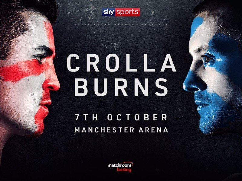 Crolla vs  Burns -  October 7 - Manchester Arena @ Manchester Arena