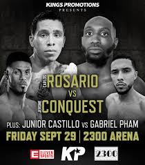 Rosario vs.  Conquest - Sept 29  - Philadelphia @ Philadelphia | Philadelphia | Pennsylvania | United States