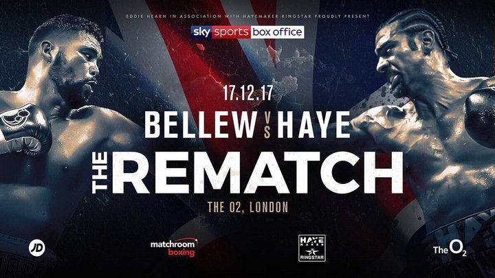 Haye vs Bellew - Postponed! @ London, UK | London | England | United Kingdom
