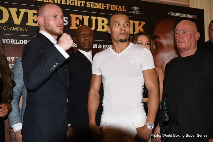 Eubank vs Korobov – Showtime