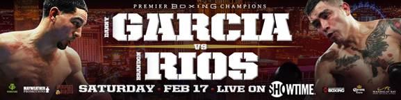 Garcia vs Rios - February 17 - Las Vegas @ Las Vegas | Las Vegas | Nevada | United States