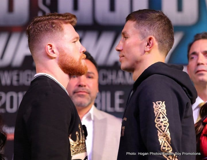 Golovkin vs Canelo II – September 15  – Las Vegas