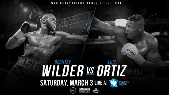 Wilder vs Ortiz - March 3 - Brooklyn, NY @ Brooklyn, NY | New York | United States