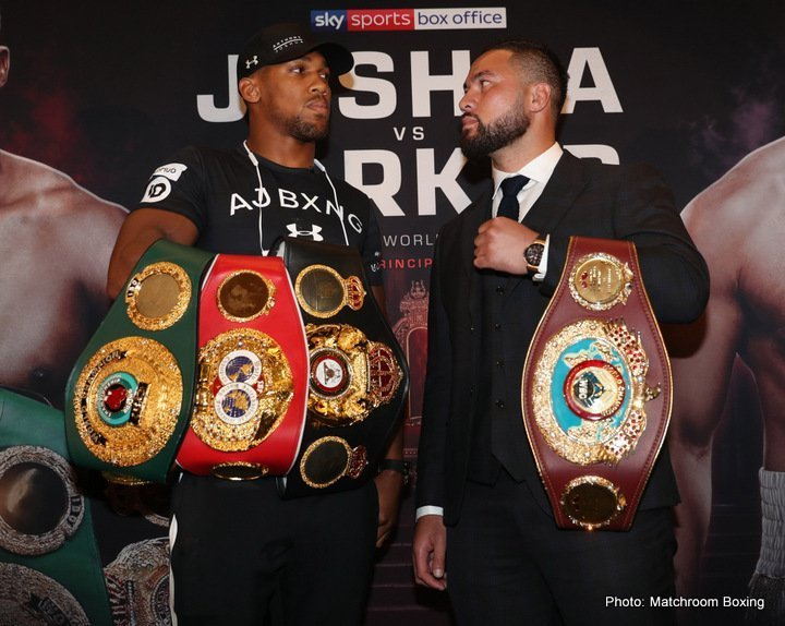 Joshua vs Parker - March 31 - Cardiff, Wales @ Cardiff, Wales | Cardiff | Wales | United Kingdom