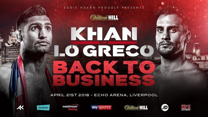 Khan vs Lo Greco – April 21 – Liverpool @ Liverpool | Liverpool | New York | United States