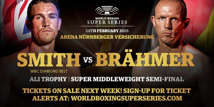 Braehmer vs Smith – February 24 – Nuremberg, Germany @ Nürnberg | Nuremberg | Bavaria | Germany
