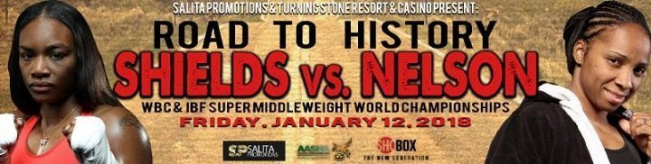 Shields vs Nelson –  January 12 –  New York