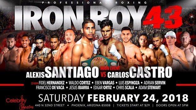 Castro vs.  Santiago – Feb 24 – Phoenix