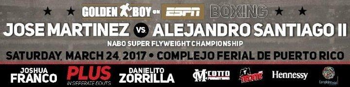 Martinez vs. Santiago - March 24 - Ponce, Puerto Rico @ Ponce, Puerto Rico  | Ponce | Ponce | Puerto Rico