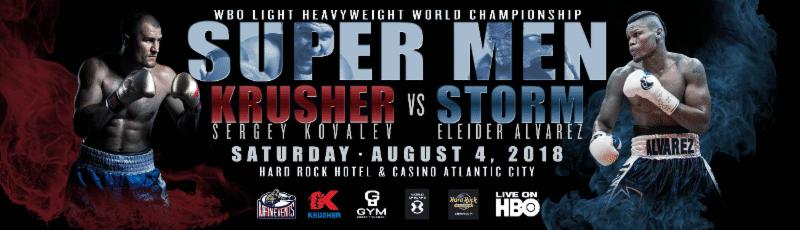 Kovalev vs Alvarez – August 4 – Atlantic City