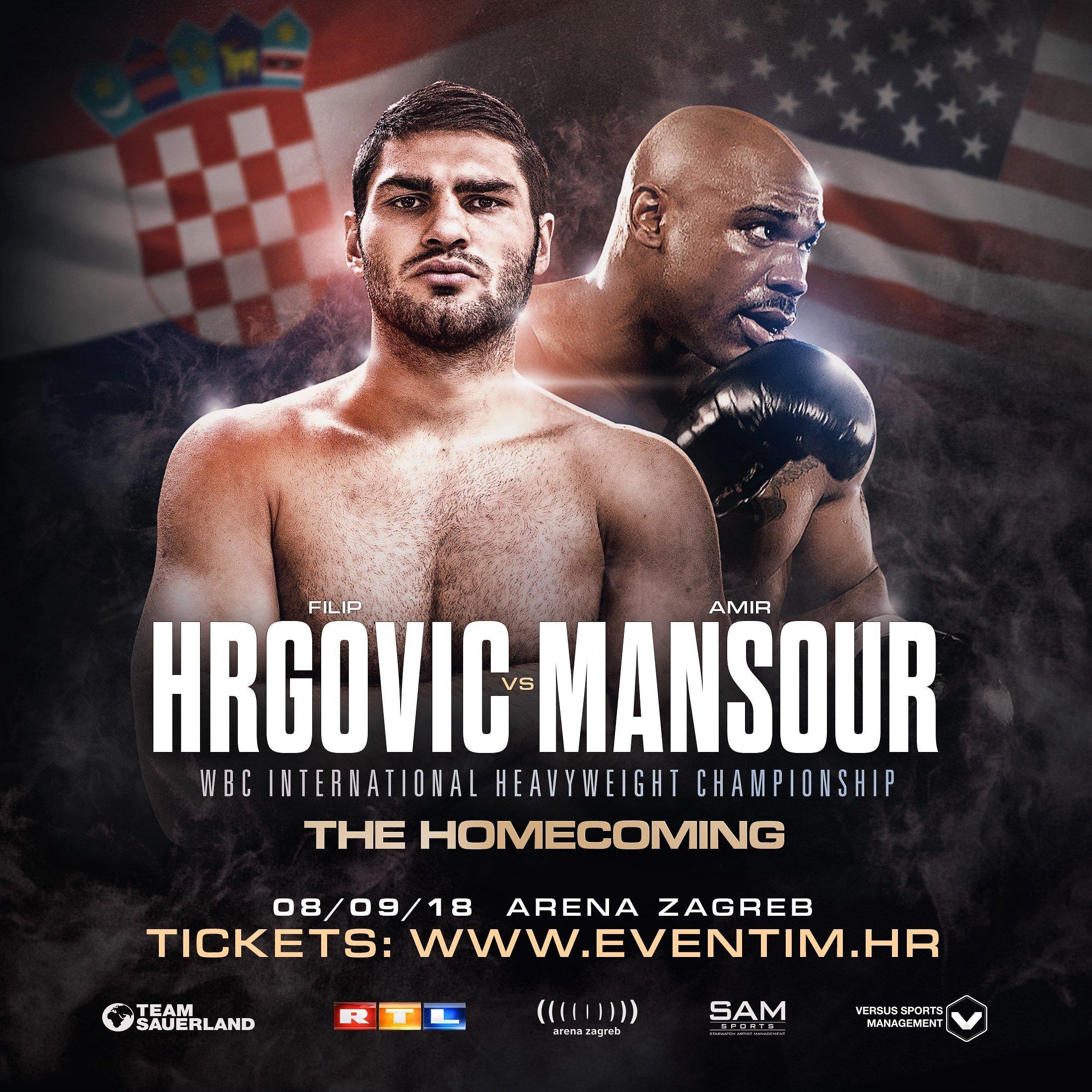 Hrgović vs Mansour - September 8 - Zagreb, Croatia @ Zagreb | Zagreb | Croatia