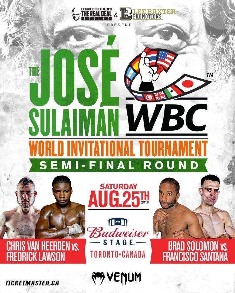 * Postponed * Van Heerden vs. Lawson - August 25 - Toronto, Canada @  Toronto | Toronto | Ontario | Canada