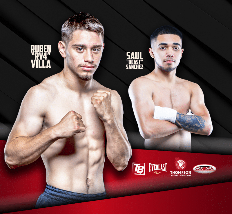 Villa vs Gonzalez - August 24 - Corona, Calif @ Corona, Calif | Corona | California | United States