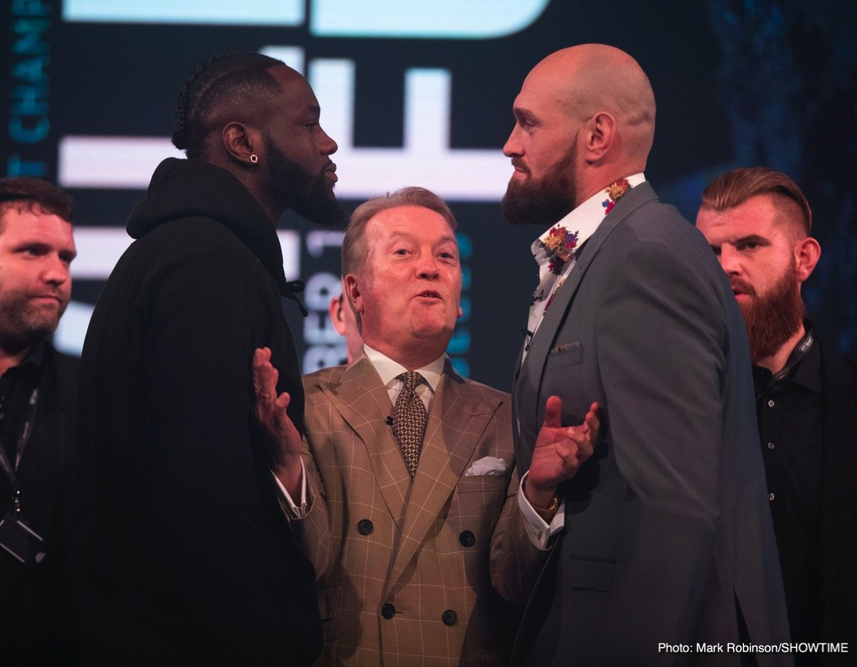 Wilder vs Fury – December 1 – Los Angeles