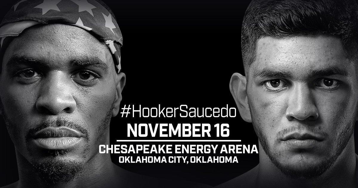 Hooker vs Saucedo - November 16 - Oklahoma @ Oklahoma | Oklahoma | United States