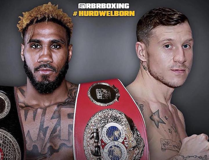 Hurd vs Welborn - December 1 - Los Angeles @ Los Angeles | Los Angeles | California | United States