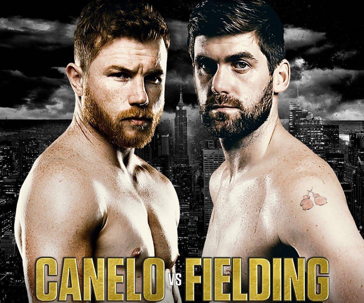 Canelo vs Fielding – December 15 – New York