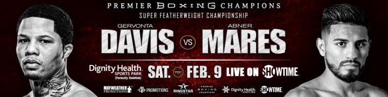 Davis vs Mares - February 9 - Carson, Calif @ Carson, Calif | Carson | California | United States