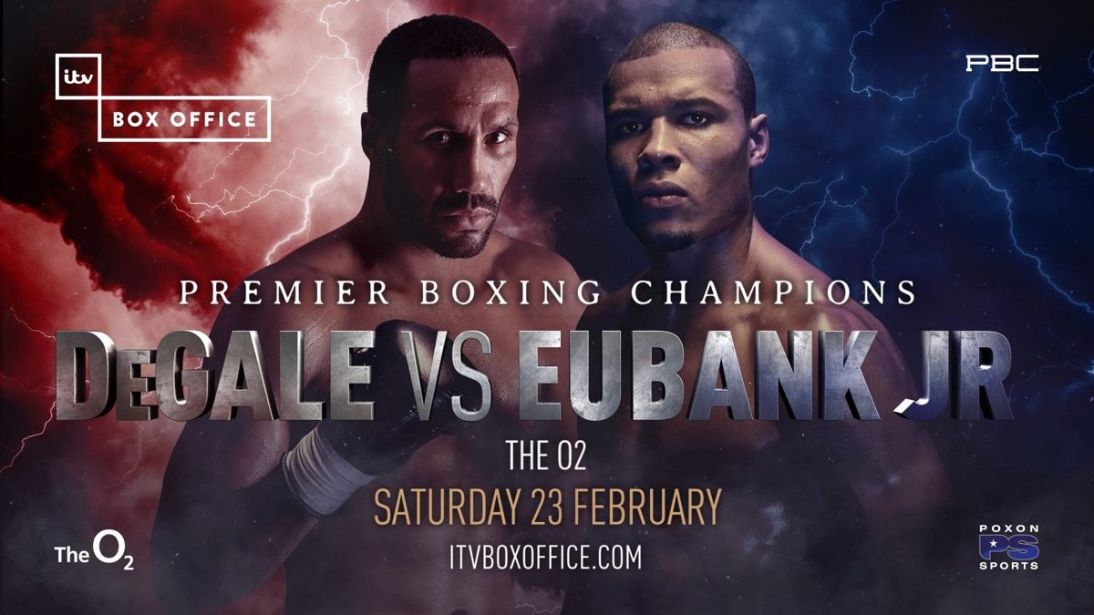 Degale vs Eubank Jr - February 23  – London @ London | London | England | United Kingdom