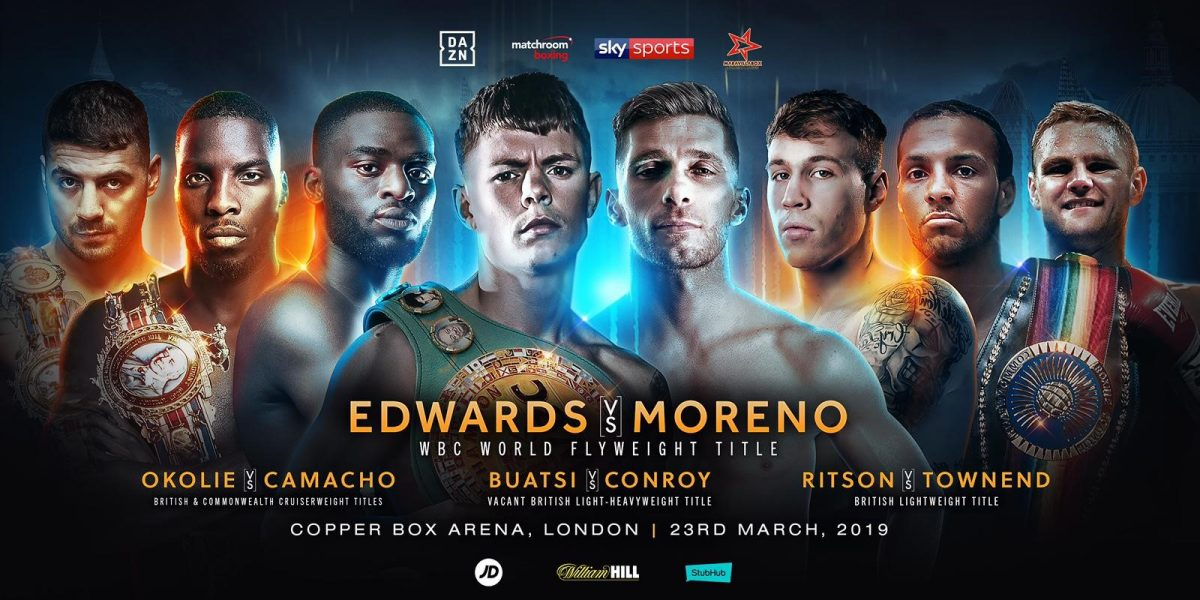 Edwards vs Moreno - March 23 - London @  Copper Box Arena | United Kingdom
