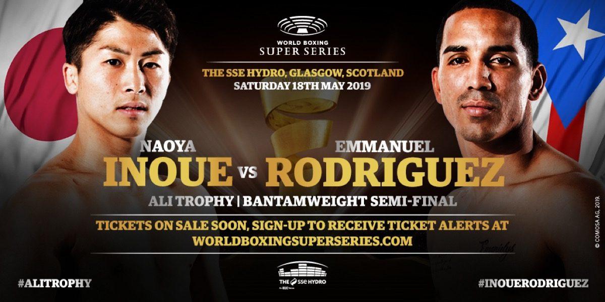Inoue vs Rodriguez   - May 18 - Glasgow @ The SSE Hydro Glasgow | Scotland | United Kingdom