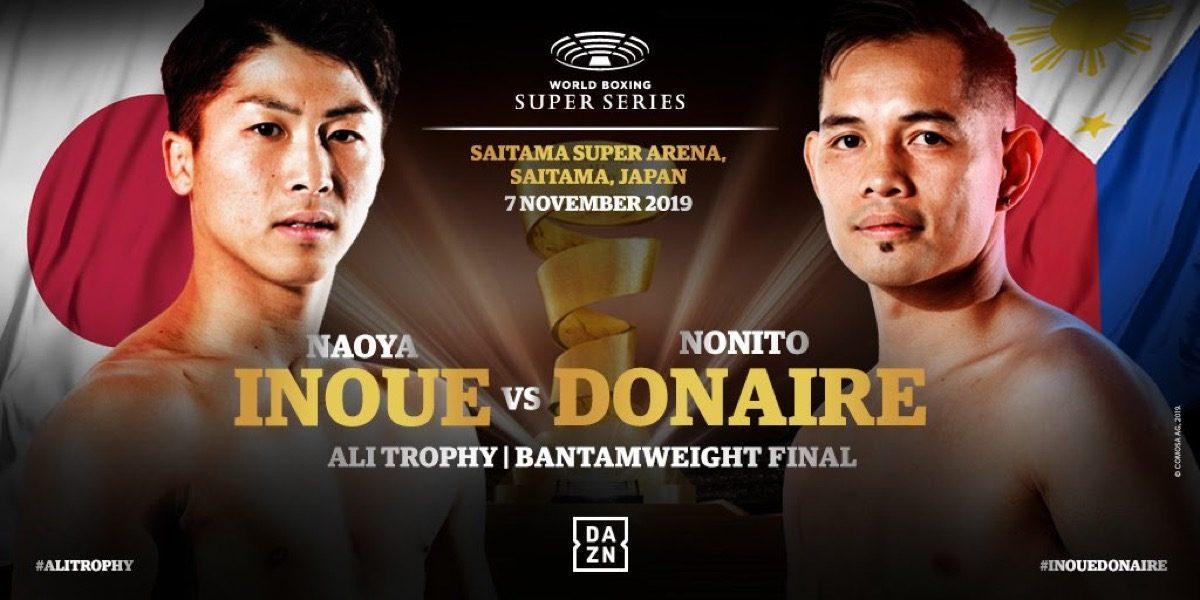 Inoue vs Donaire -  DAZN @ Saitama Super Arena in Saitama | Saitama | Saitama | Japan