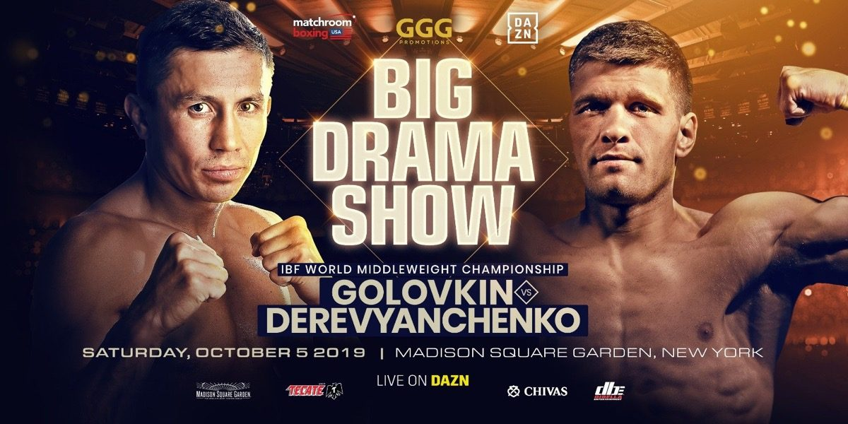 Golovkin vs  Derevyanchenko - DAZN @ Madison Square Garden | New York | New York | United States