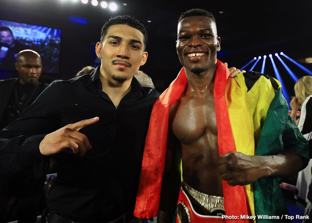 Commey vs. Teofimo Lopez - ESPN @ Madison Square Garden | New York | New York | United States