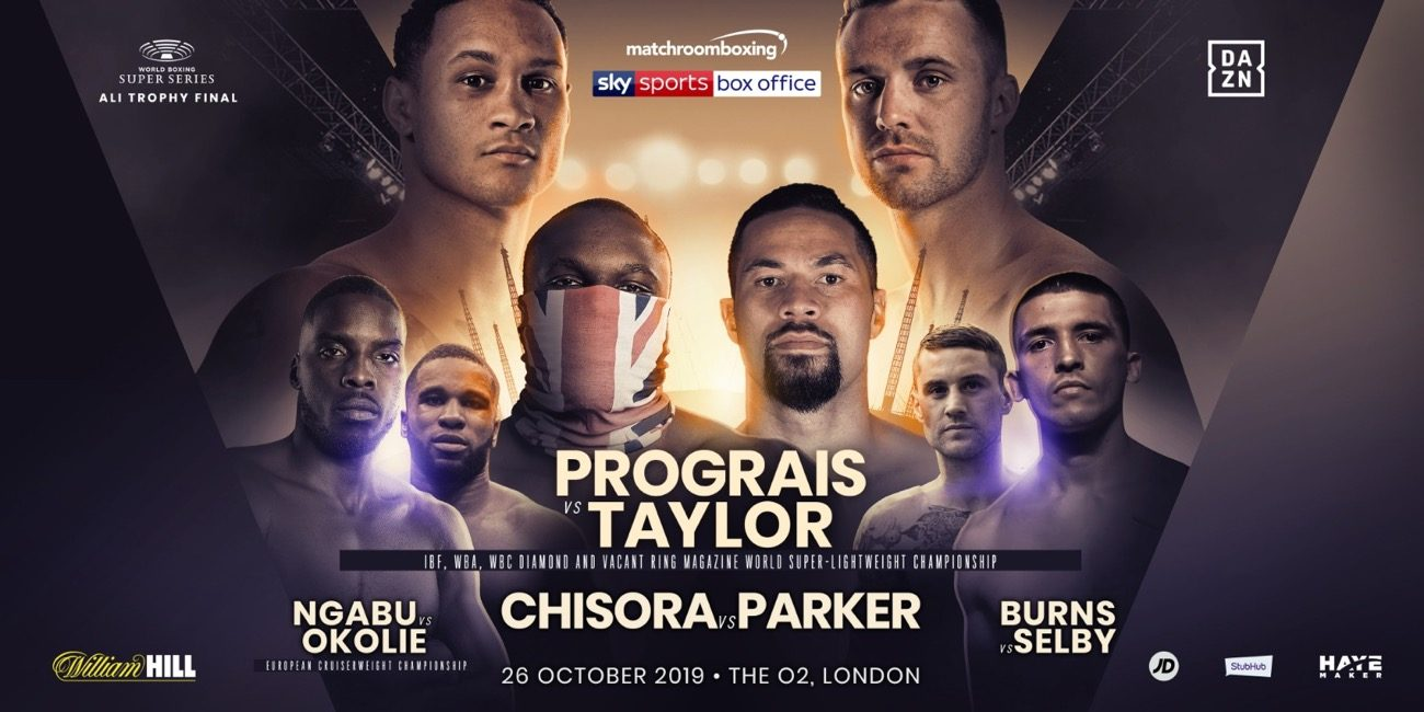 Prograis vs Taylor - DAZN, Sky Sports @ The O2 in London | England | United Kingdom