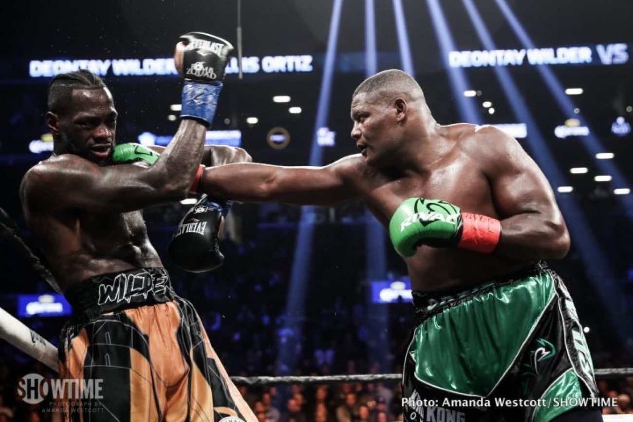 Wilder vs Ortiz - Fox PPV @ MGM Grand Garden Arena in Las Vegas | Las Vegas | Nevada | United States