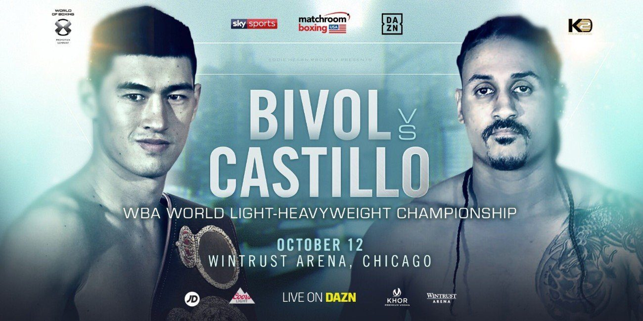 Bivol vs Castillo - DAZN, Sky Sports @ Wintrust Arena in Chicago | Chicago | Illinois | United States