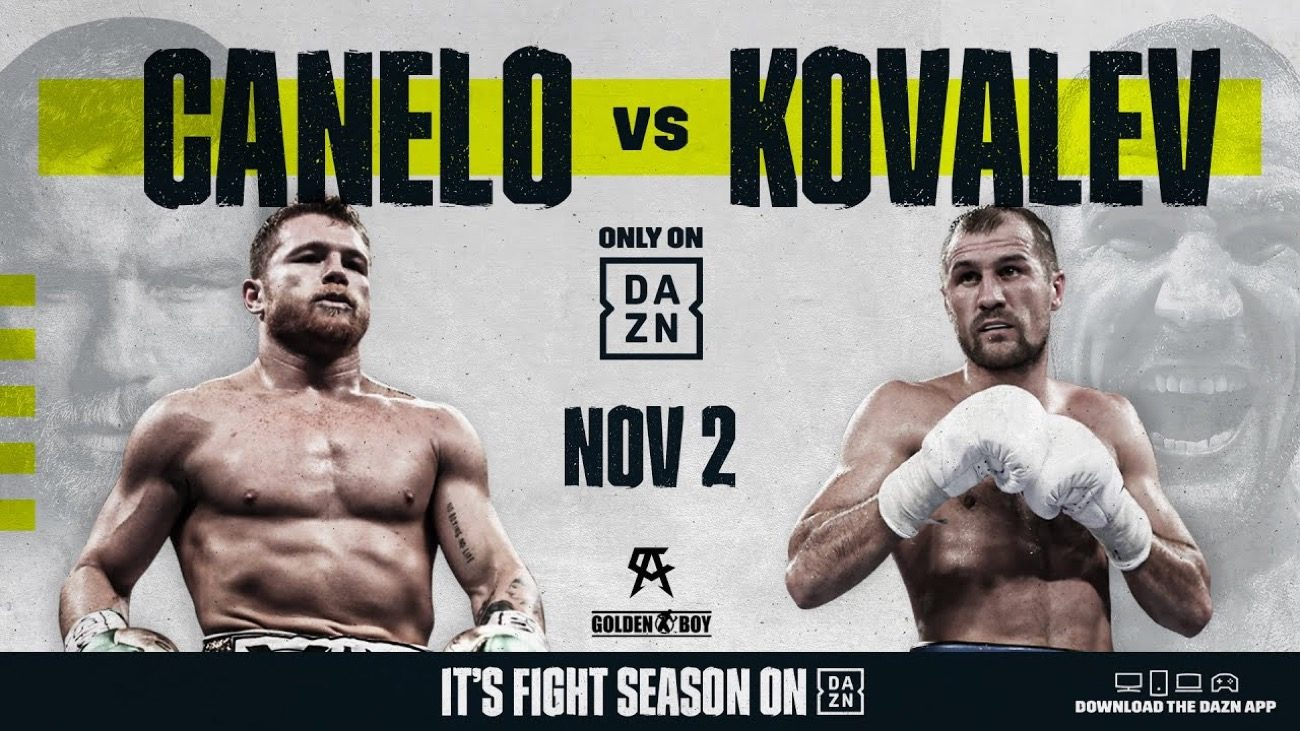 Canelo vs Kovalev - DAZN @ MGM Grand in Las Vegas | Las Vegas | Nevada | United States