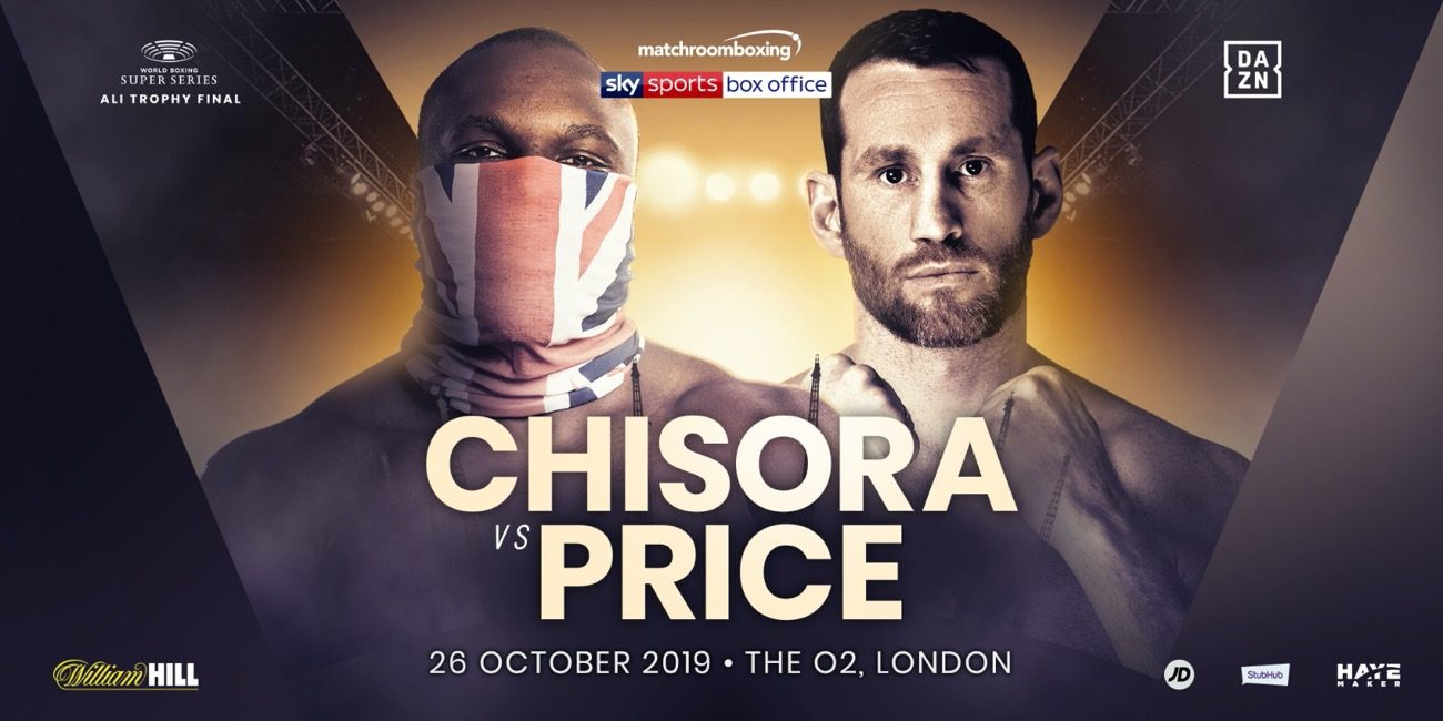 Chisora vs Price - DAZN, Sky Sports @ The O2 in London | England | United Kingdom