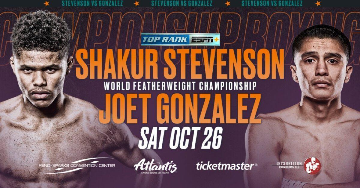Stevenson vs Gonzalez – ESPN+