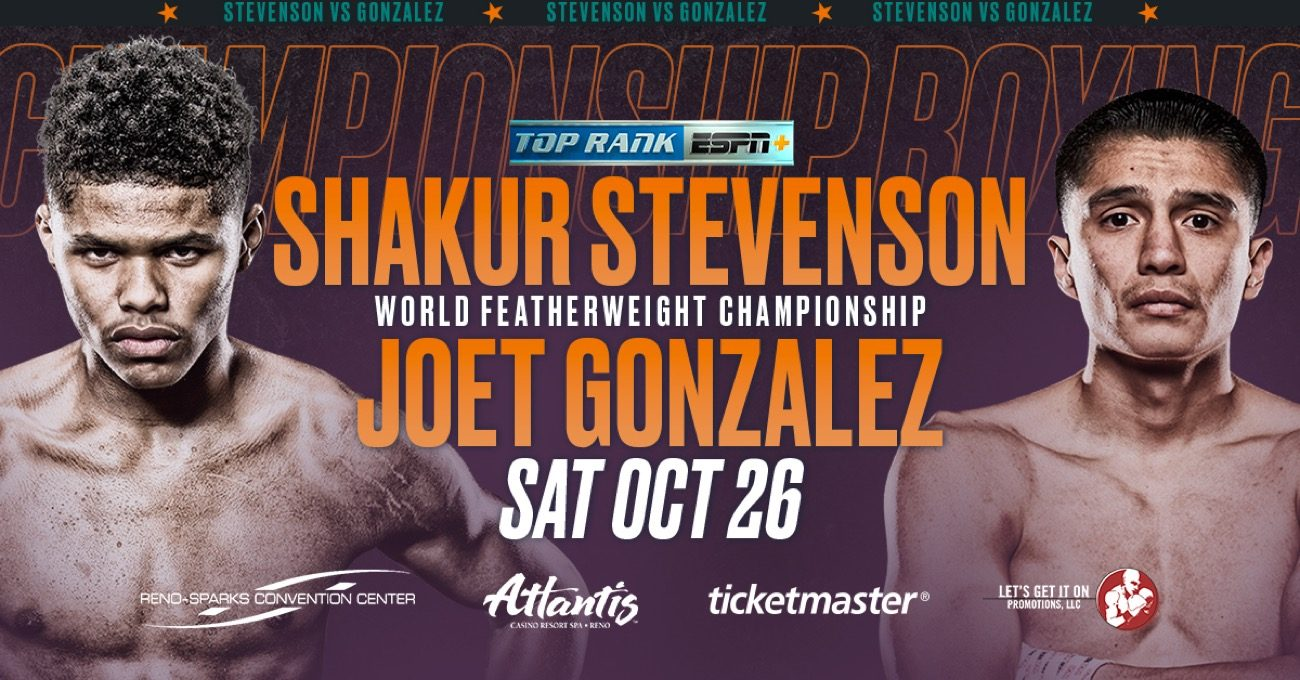 Stevenson vs Gonzalez - ESPN+ @ Reno-Sparks Convention Center | Reno | Nevada | United States
