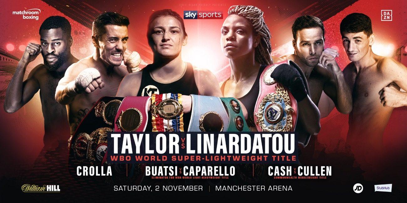 Taylor vs Linardatou - DAZN, Sky Sports @ Manchester Arena | England | United Kingdom