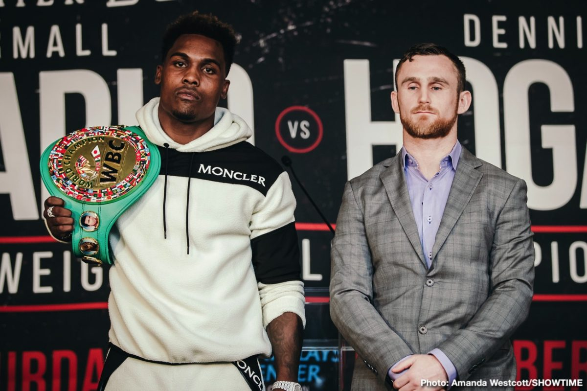 Jermall Charlo vs Hogan – Showtime