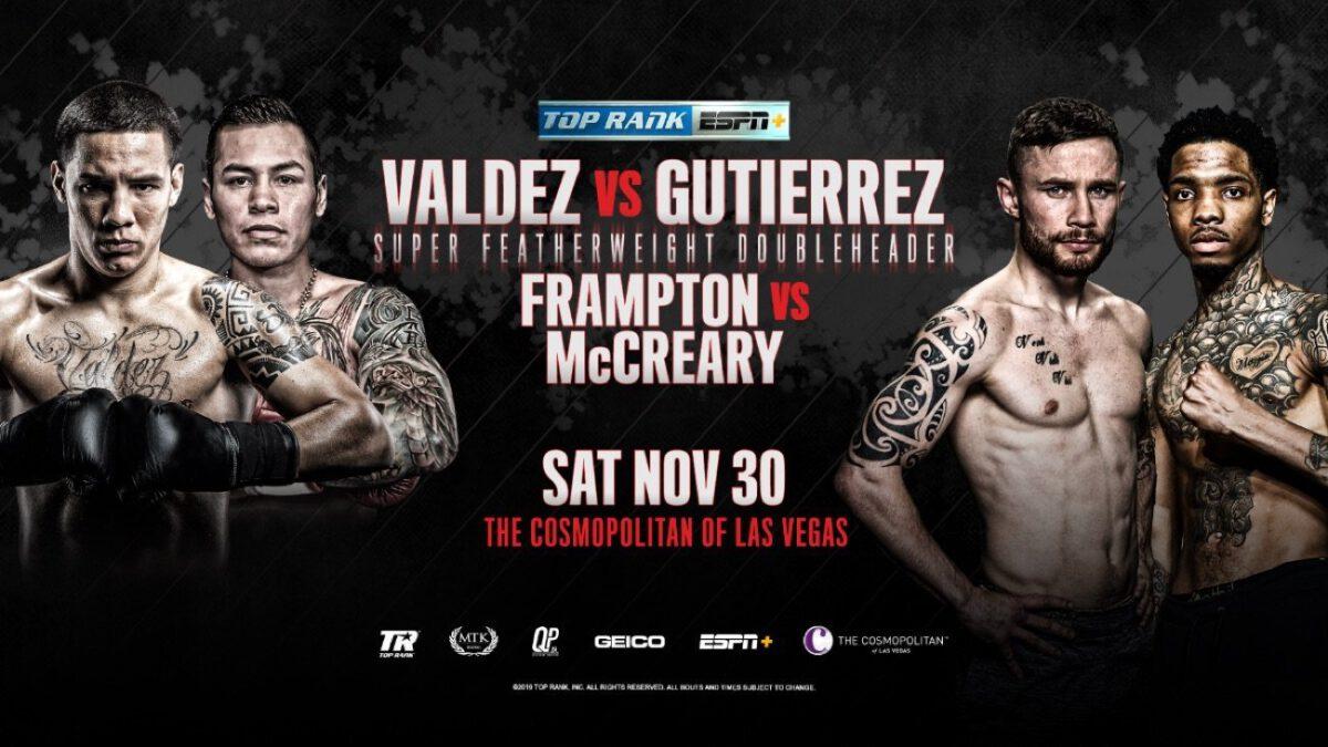 Valdez vs Gutierrez –  ESPN+