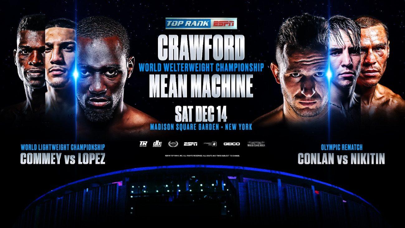 Crawford vs Kavaliauskas - ESPN @ Madison Square Garden | New York | New York | United States