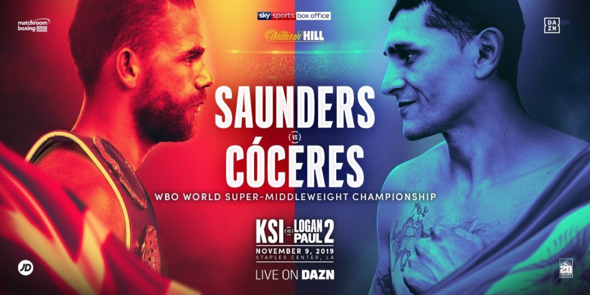 Saunders vs  Coceres – DAZN, Sky Sports