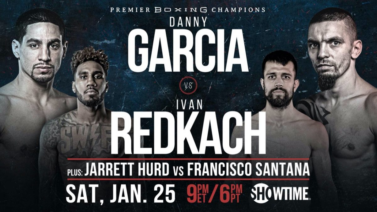 Garcia vs Redkach – Showtime