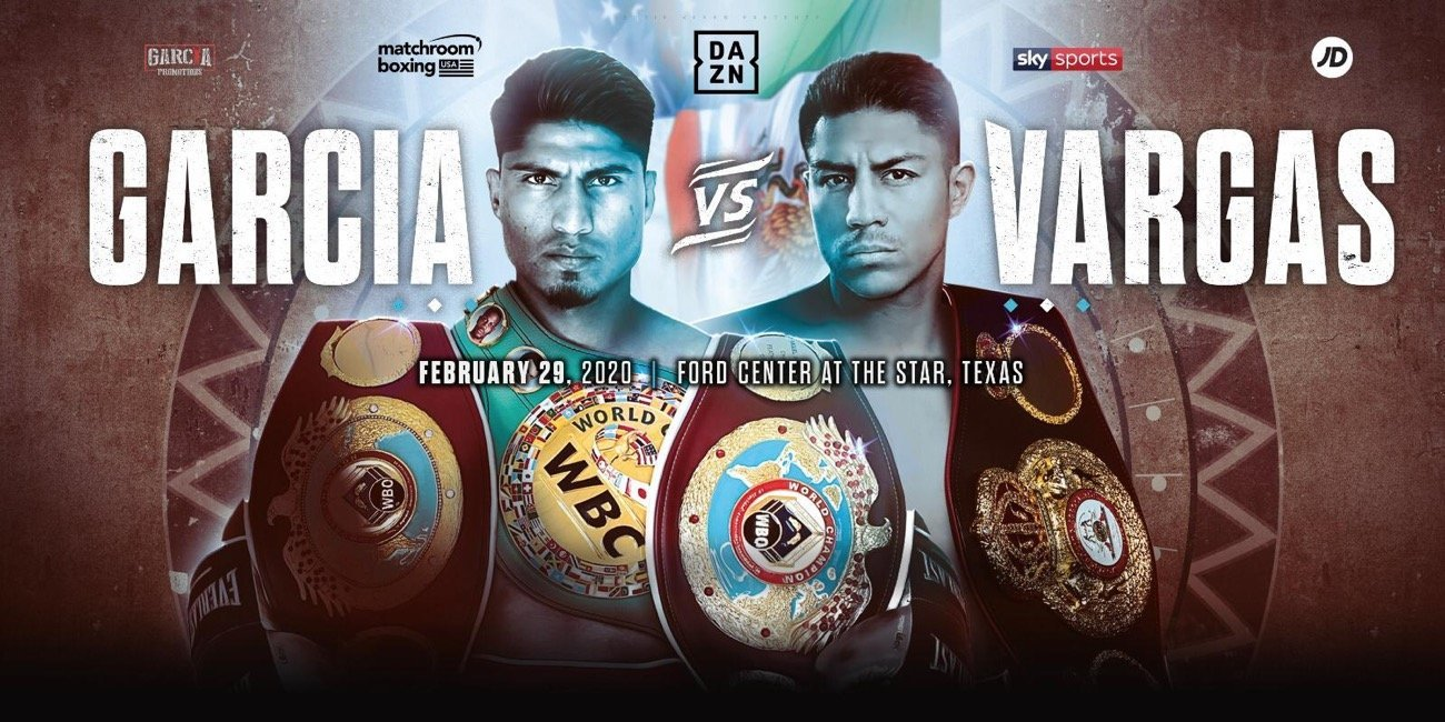 Garcia vs Vargas - DAZN, Sky Sports @ Ford Center at the Star in Frisco | Frisco | Texas | United States