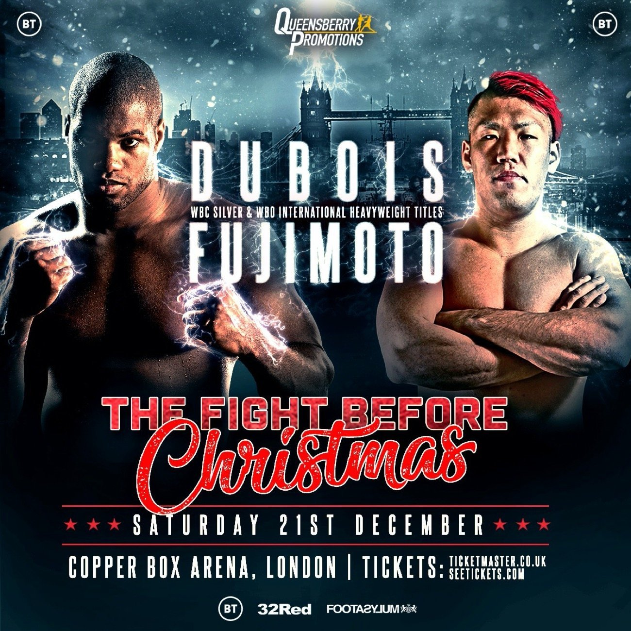 Dubois  vs Fujimoto  - BT Sport, ESPN+ @ Copper Box Arena | England | United Kingdom
