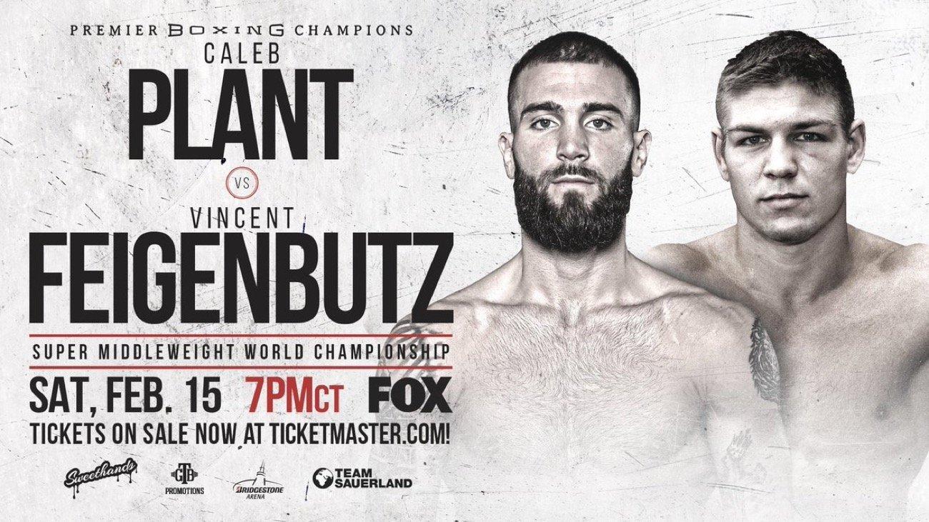 Plant vs  Feigenbutz - Fox Sports @ Bridgestone Arena in Nashville, Tennessee | Nashville | Tennessee | United States