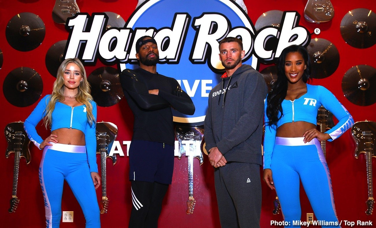 Hart vs Smith - ESPN @ Hard Rock Live at Etess Arena in Atlantic City | Atlantic City | New Jersey | United States