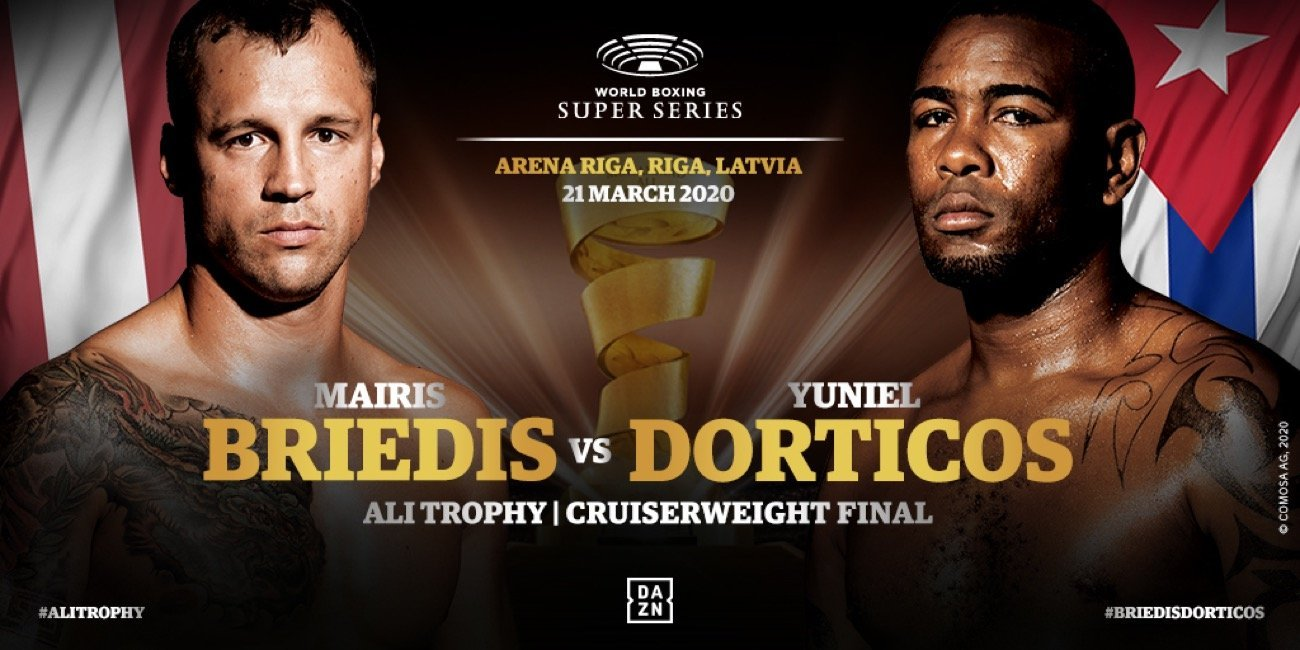 Briedis vs Dorticos - DAZN, Sky Sports @ Arena Riga in Riga | Rīga | Latvia